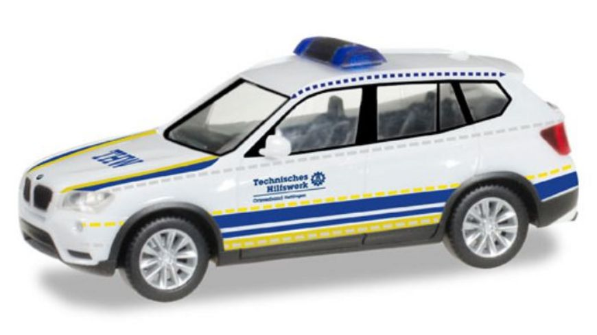 Herpa 93330 BMW X3 THW Hattingen