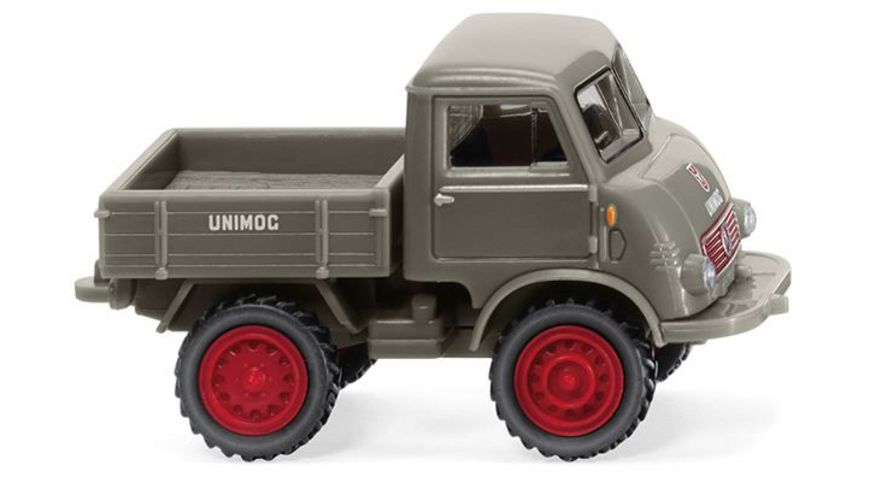 Wiking 0368 01 Unimog U 401 moosgrau