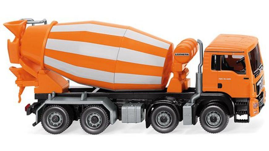 Wiking 0681 48 Fahrmischer MAN TGS Euro 6 Liebherr orange