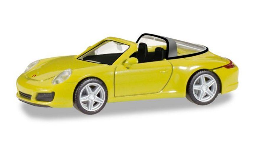 Herpa 28868 Porsche 911 Targa 4 racinggelb