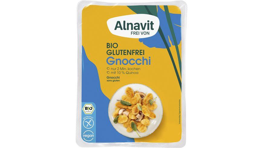 Alnavit Bio Gnocchi mit Quinoa - glutenfrei