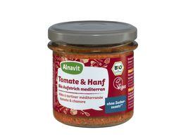 Alnavit Tomate Hanf Bio Aufstrich mediteran