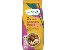 Alnavit Bio Hafer Schoko Porridge glutenfrei