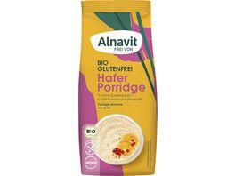 Alnavit Bio Hafer Porridge glutenfrei