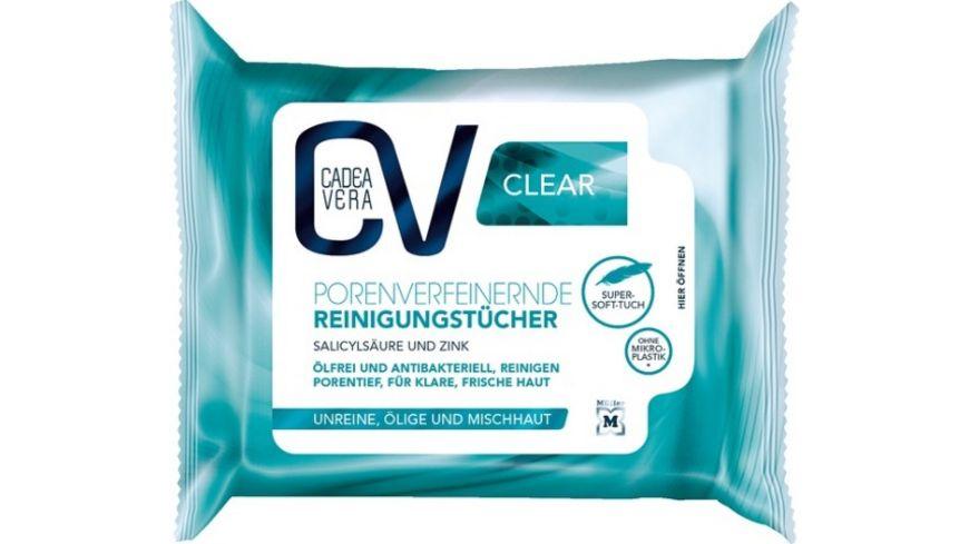 CV Clear porenverfeinernde Reinigungstücher 25 Stück