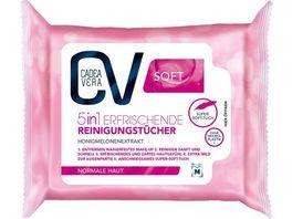 CV Soft 5in1 erfrischende Reinigungstuecher 25 Stueck