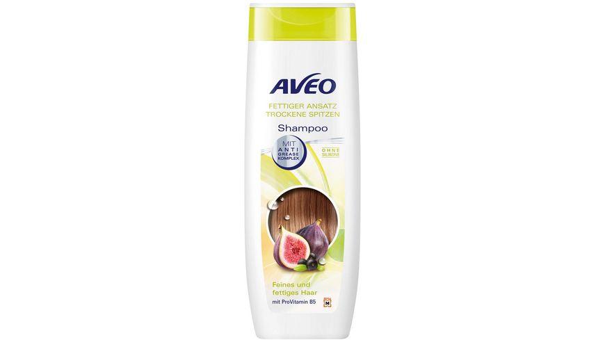 AVEO Shampoo fettiger Ansatz trockene Spitzen