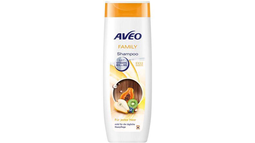 AVEO Shampoo Family