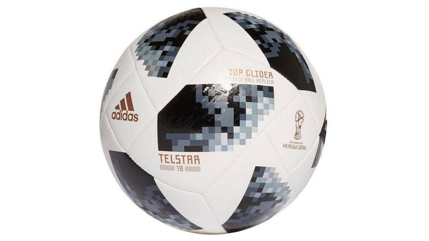 Xtrem Toys adidas Telstar WM 2018 Top Glider Trainingsball Groesse 5