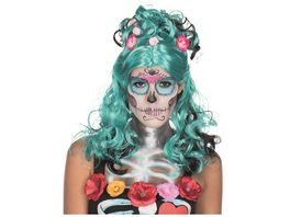 Rubies Peruecke Day of the Dead