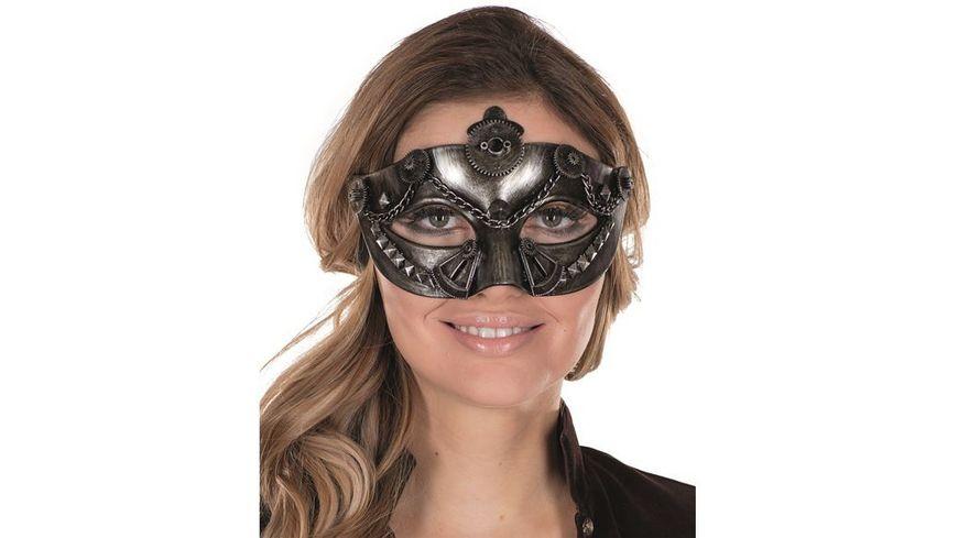 Rubies Steampunk Maske Damen