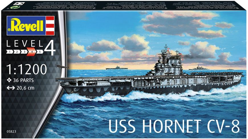 Revell 05823 USS Hornet CV 8