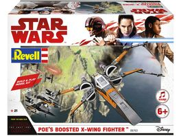 Revell 06763 Build Play Poe s Boosted X Wing Fighter