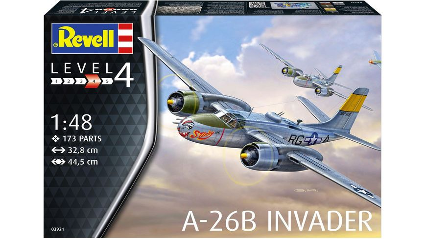 Revell 03921 A 26B Invader