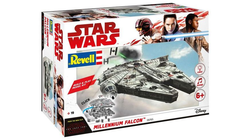 Revell 06765 Build Play Millennium Falcon