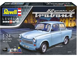 Revell 07777 Geschenkset Trabant 601S 60 Years of Trabant