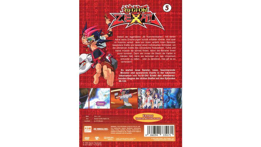 Yu Gi Oh Zexal Staffel 3 1 Episode 99 123 5 DVDs