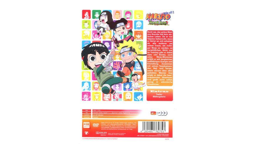 Naruto Spin Off Rock Lee und seine Ninja Kumpels Volume 1 Episode 01 13 3 DVDs
