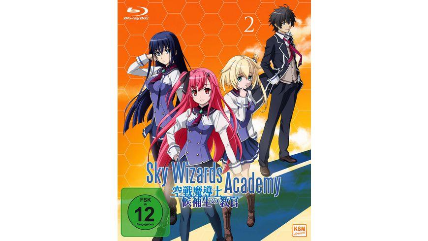 Sky Wizards Academy Volume 2 Episode 07 12 OVA