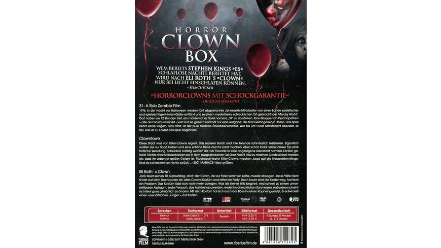 Horror Clown Box 1 Uncut Edition 3 DVDs
