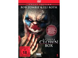 Horror Clown Box 1 Uncut Edition 3 DVDs