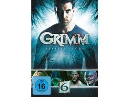 Grimm Staffel 6 4 DVDs