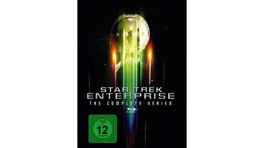 Star Trek Enterprise Complete Boxset 24 BRs