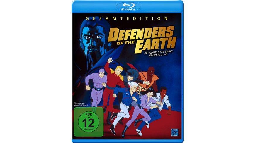 Defenders of the Earth Gesamtbox