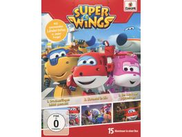 Super Wings Folgen 1 2 3 3 DVDs