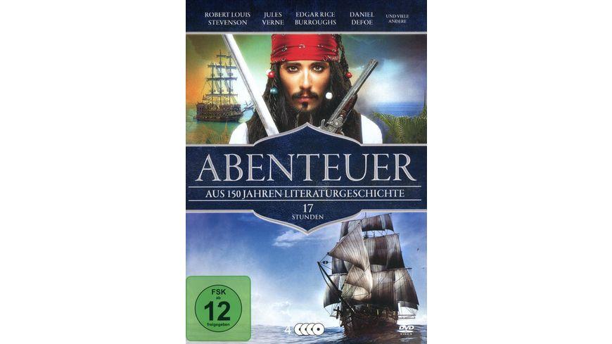 Abenteuer Aus 150 Jahren Literaturgeschichte 4 DVDs