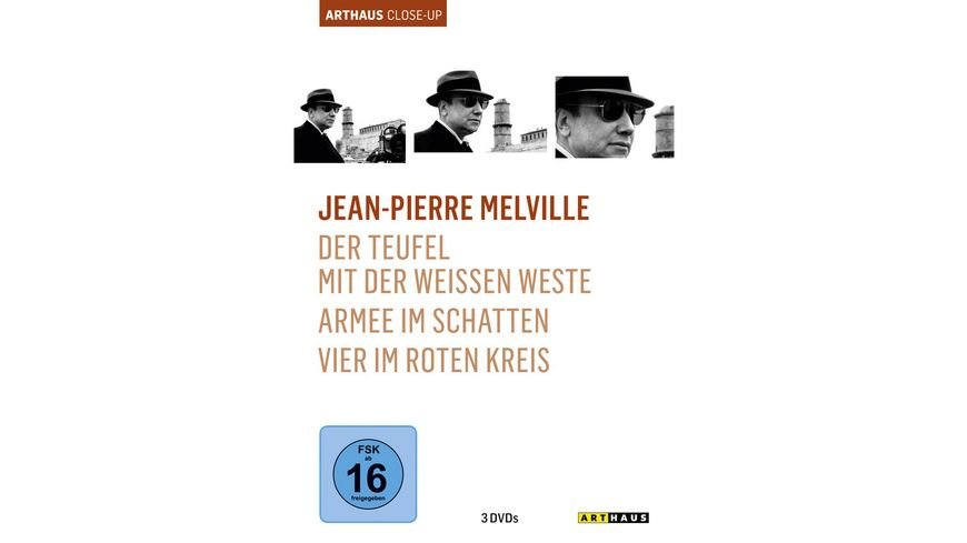 Jean Pierre Melville Arthaus Close Up 3 DVDs