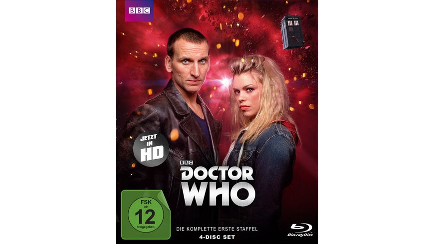 Doctor Who Die komplette 1 Staffel Folge 1 13 Limited Edition 4 BRs
