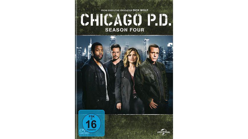 Chicago P D Season 4 6 DVDs