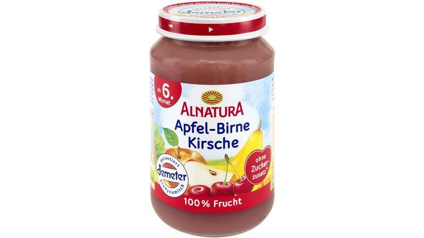 Alnatura Fruechtezubereitung Apfel Birne Kirsche