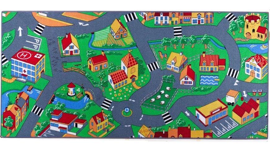 Mueller Toy Place Spielteppich Little Village