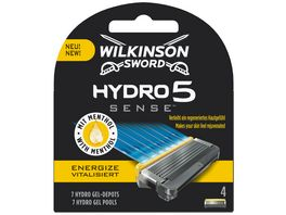 WILKINSON SWORD Hydro 5 Sense Energize Rasierklingen