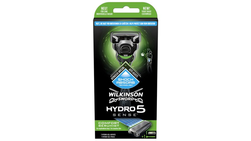 WILKINSON Sword Hydro 5 Sense Comfort Rasierapparat mit 1 Klinge
