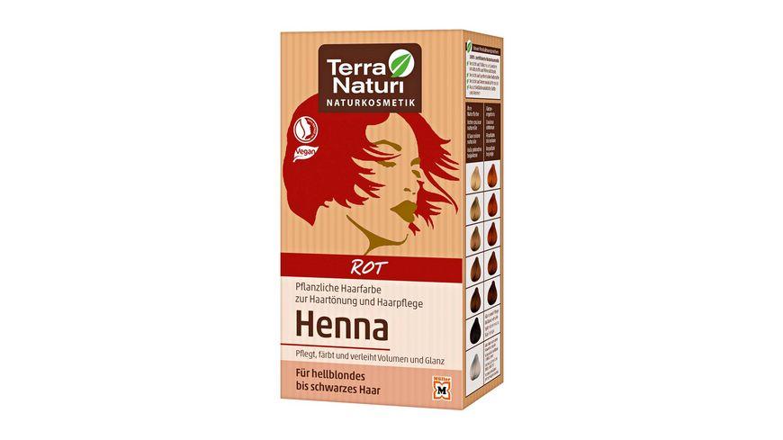 Terra Naturi Henna Pflanzenhaarfarbe Rot