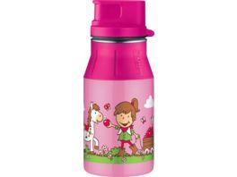 alfi Trinkflasche elementBottle II Farm Rosa 0 4 l