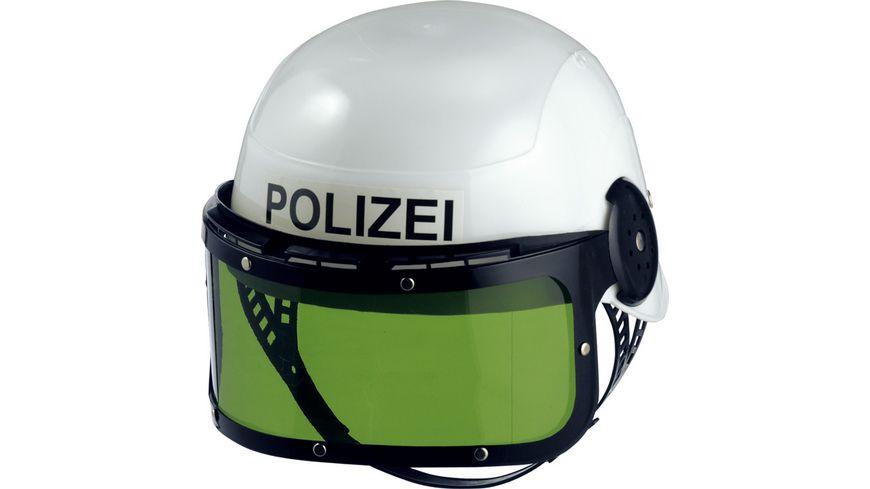 Mottoland Polizeihelm mit Visier