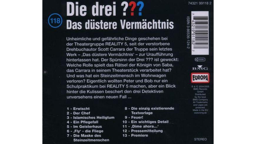 118 Das duestere Vermaechtnis