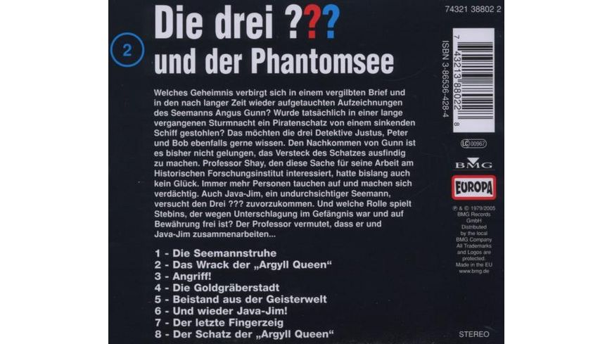 002 und der Phantomsee