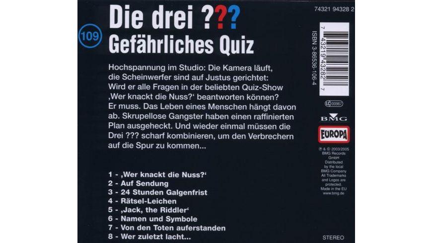 109 Gefaehrliches Quiz