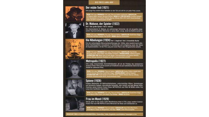 Die Fritz Lang Box 9 DVDs