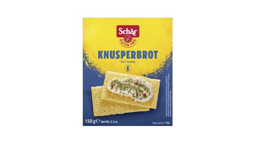 Schaer Knusperbrot glutenfrei