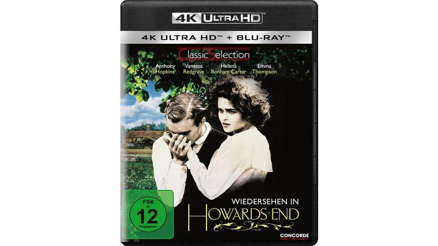 Wiedersehen in Howards End Blu ray 4K Ultra HD