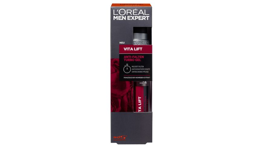 L OREAL PARIS MEN EXPERT Vita Lift Anti Falten Turbo Gel