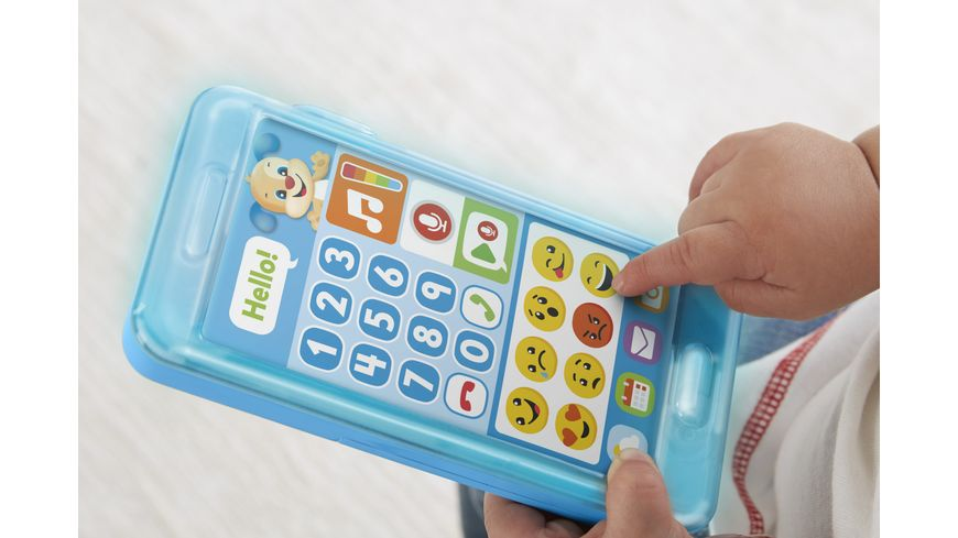 Fisher Price Lernspass Huendchens Smart Phone