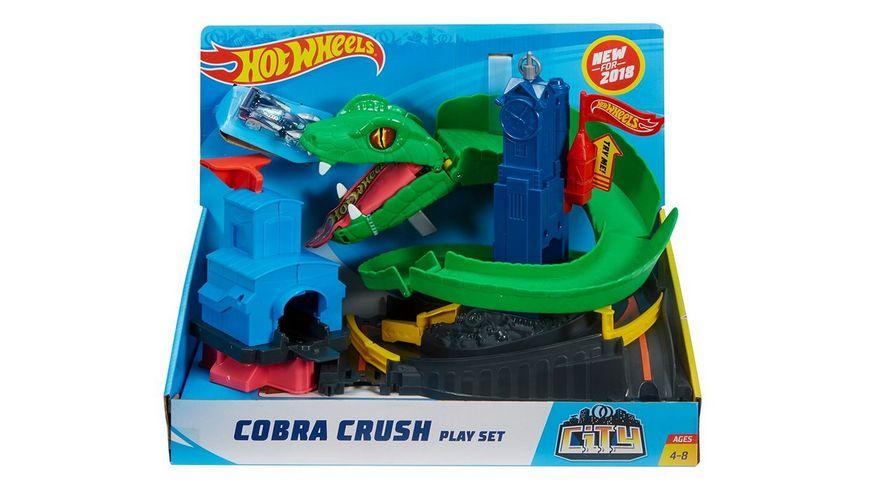 Mattel Hot Wheels Cobra Brush Spielset