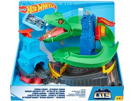 Mattel Hot Wheels Cobra Brush Spielset